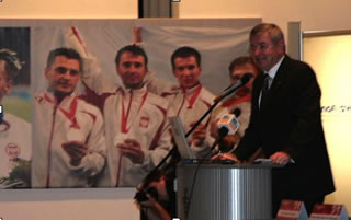 The resting place of Polish Olympic Committee Chairman killed in Smolensk remains unknown.