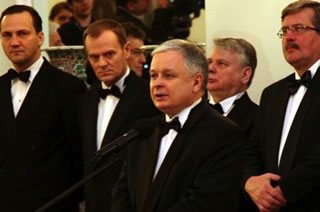 Former Prime Minister of Poland Donald Tusk, and Former Minister of Foreign Affairs, Radek Sikorski, to be deposed.