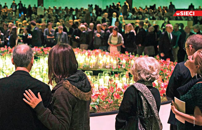 November 17, 2014 Memorial ceremonies for the victims of Malaysia Airlines Flight MH17.