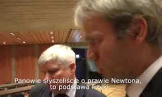 Glenn Arthur Jørgensen, Danish Member of the Polish Independent Investigation Team asking Maciej Lasek about puzzling inconsistencies in the official Polish and Russian governments' reports.